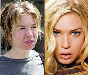 Funny Pictures of Celebs without Makeup