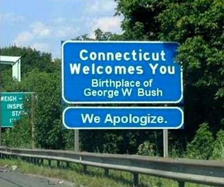 George Bush Sign