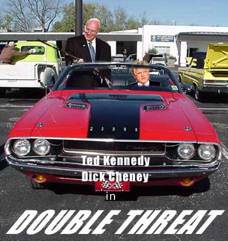 Ten ways Dick Cheney can kill you and other fun stuff